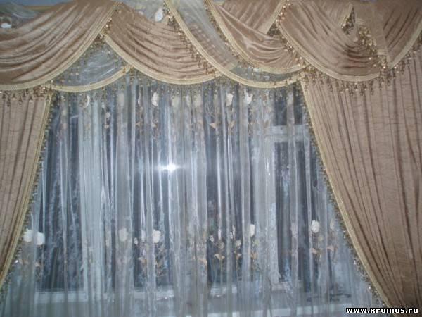 Фото новинок штор для зала - Вариант 6