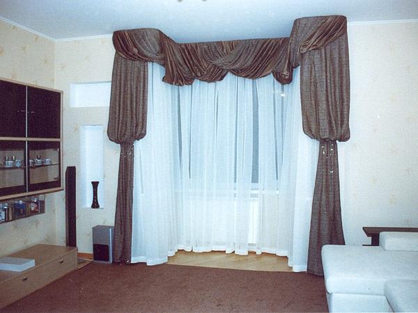 Фото новинок штор для зала - Вариант 4