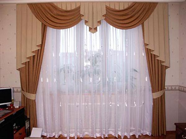 Фото новинок штор для зала - Вариант 2