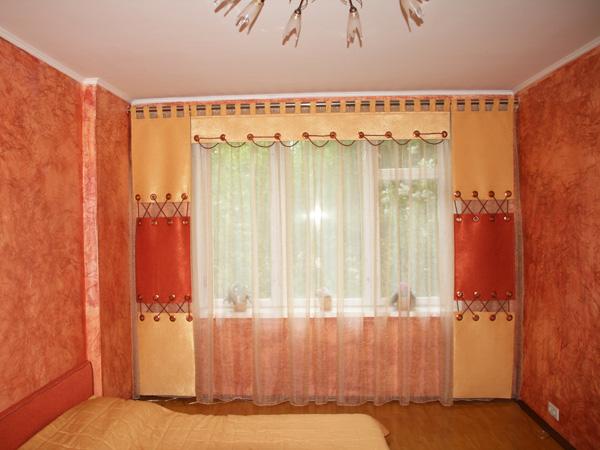 Фото новинок штор для зала - Вариант 37