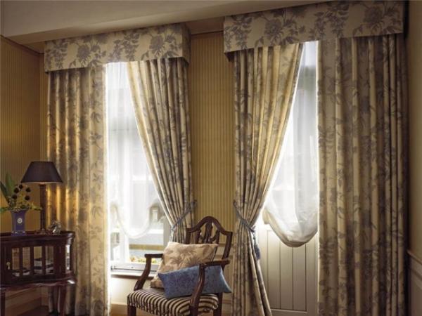 Фото новинок штор для зала - Вариант 32