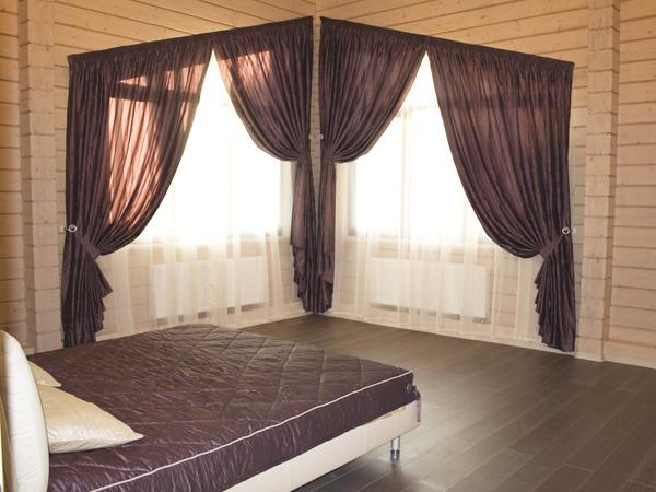 Фото новинок штор для зала - Вариант 39