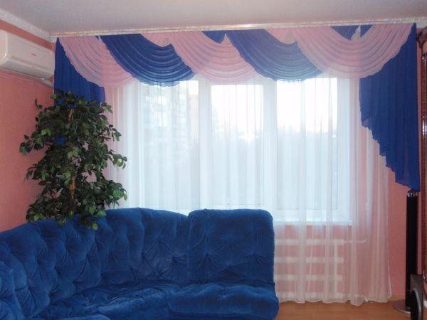 Фото новинок штор для зала - Вариант 7