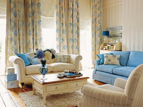 Для правильного сочетания стиля штор с дизайном, в первую очередь нужно обратить внимание на цвет