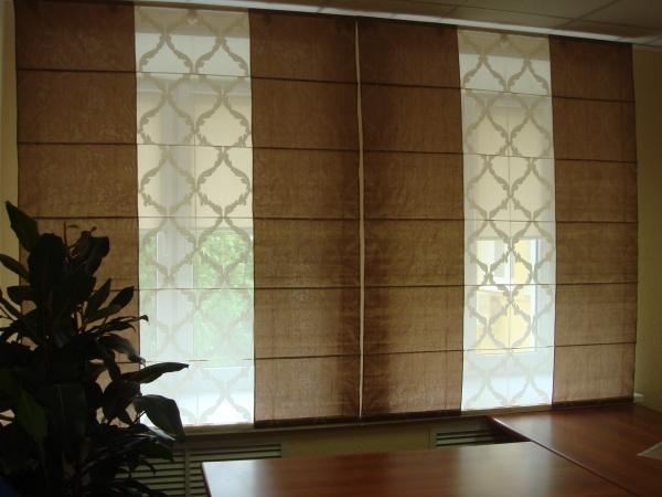 100 вариантов фото новинок штор в гостиную - Вариант 4