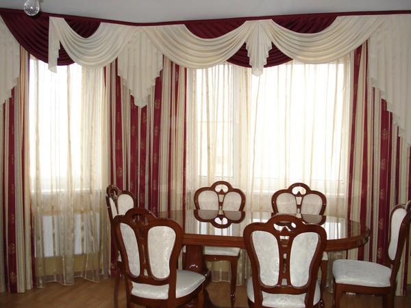 100 вариантов фото новинок штор в гостиную - Вариант 30