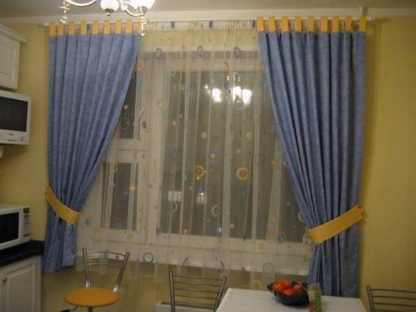 100 вариантов фото новинок штор в гостиную - Вариант 14