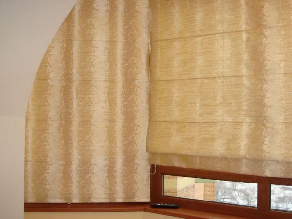 100 вариантов фото новинок штор в гостиную - Вариант 8