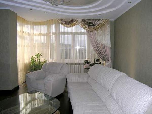 100 вариантов фото новинок штор в гостиную - Вариант 21