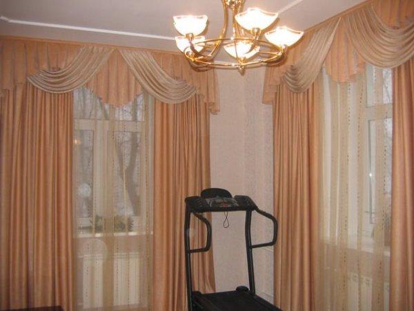 100 вариантов фото новинок штор в гостиную - Вариант 29