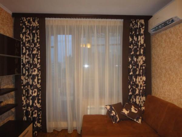 100 вариантов фото новинок штор в гостиную - Вариант 18