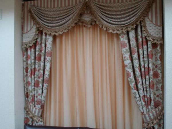 100 вариантов фото новинок штор в гостиную - Вариант 39