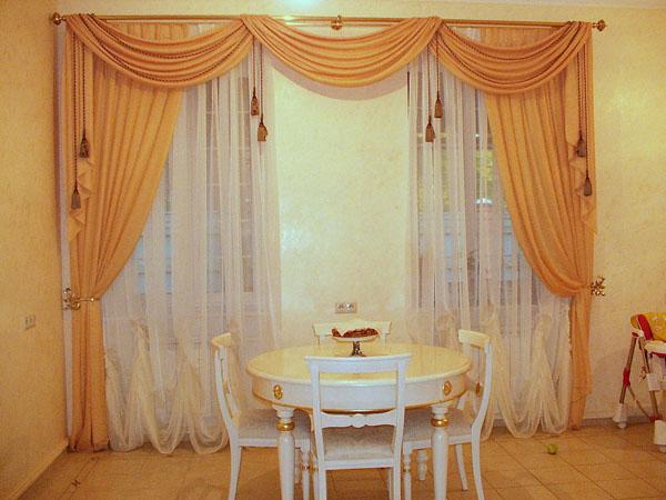 100 вариантов фото новинок штор в гостиную - Вариант 23