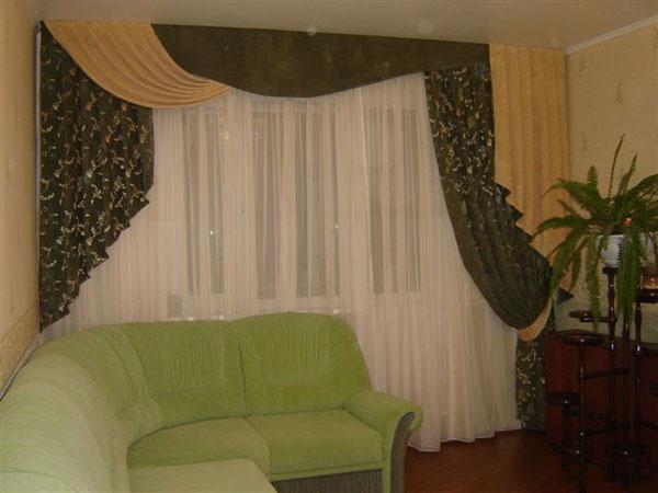 100 вариантов фото новинок штор в гостиную - Вариант 41