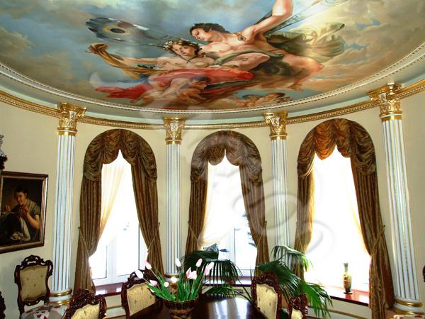 100 вариантов фото новинок штор в гостиную - Вариант 58