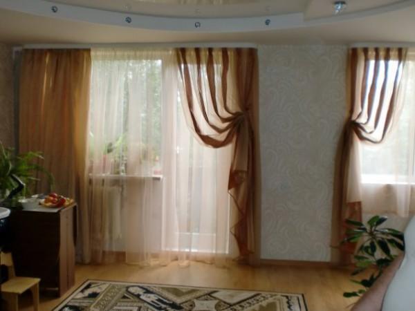 100 вариантов фото новинок штор в гостиную - Вариант 84