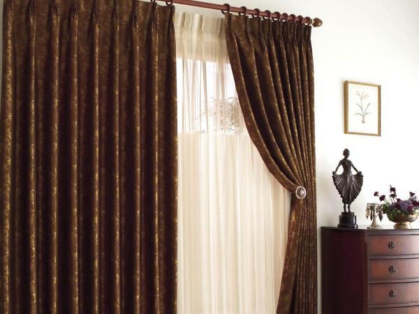 100 вариантов фото новинок штор в гостиную - Вариант 79