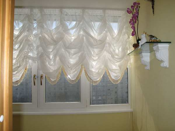 100 вариантов фото новинок штор в гостиную - Вариант 55