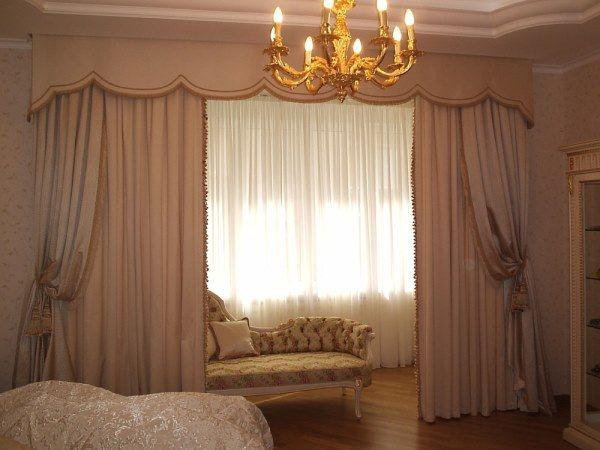100 вариантов фото новинок штор в гостиную - Вариант 91
