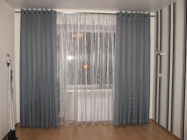 100 вариантов фото новинок штор в гостиную - Вариант 101