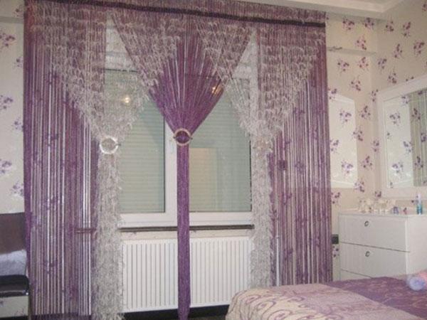 100 вариантов фото новинок штор в гостиную - Вариант 64