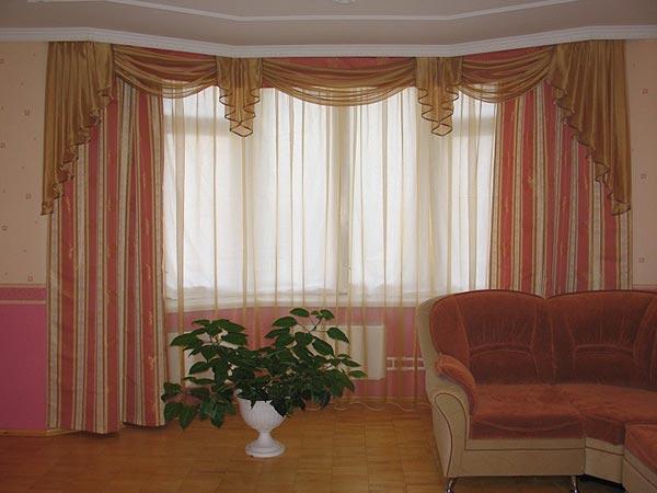 100 вариантов фото новинок штор в гостиную - Вариант 75