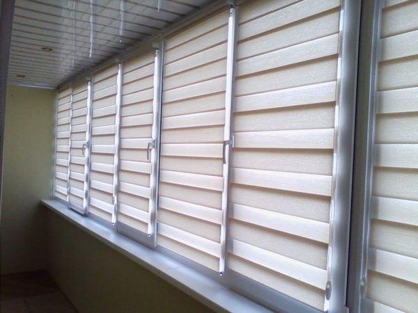 Устанавливаются такие шторы очень быстро благодаря своей простой онструкции