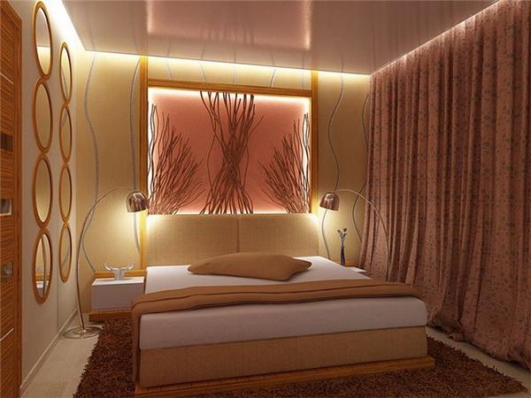 Римские шторы всегда гармонично вписываются в дизайн спальни
