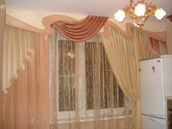 Шьем шторы для кухни своими руками