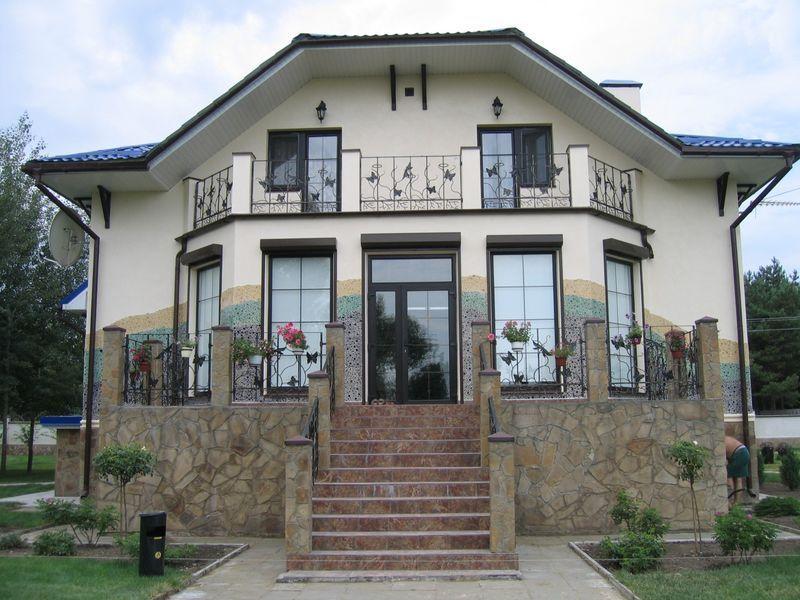 Фото дизайн фасада частного дома