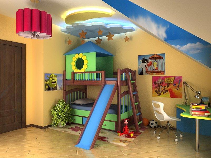 Детская комната как лучше сделать 579
