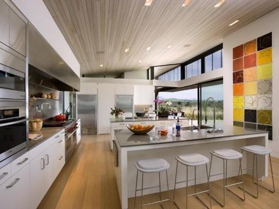 110 вариантов фото новинок штор для кухни - Вариант 1