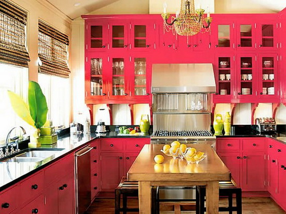 110 вариантов фото новинок штор для кухни - Вариант 9