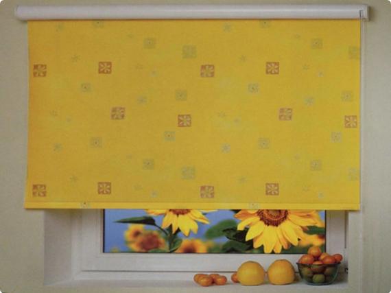 110 вариантов фото новинок штор для кухни - Вариант 7