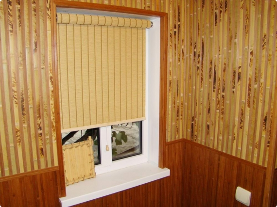 110 вариантов фото новинок штор для кухни - Вариант 3