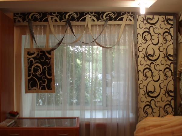 Такие шторы лучше всего подходят для зала или гостиной