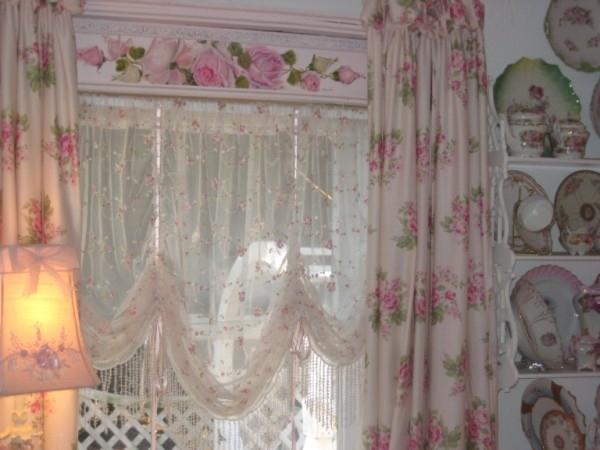 Акварельные рисунки на шторах добавят к вашему дизайну дополнительный уют и гармонию!