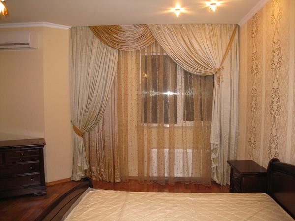 100 вариантов фото новинок штор в гостиную - Вариант 10