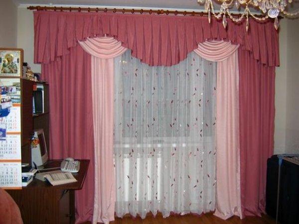 100 вариантов фото новинок штор в гостиную - Вариант 31