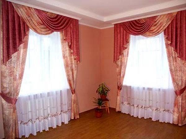 100 вариантов фото новинок штор в гостиную - Вариант 33