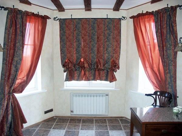 100 вариантов фото новинок штор в гостиную - Вариант 7