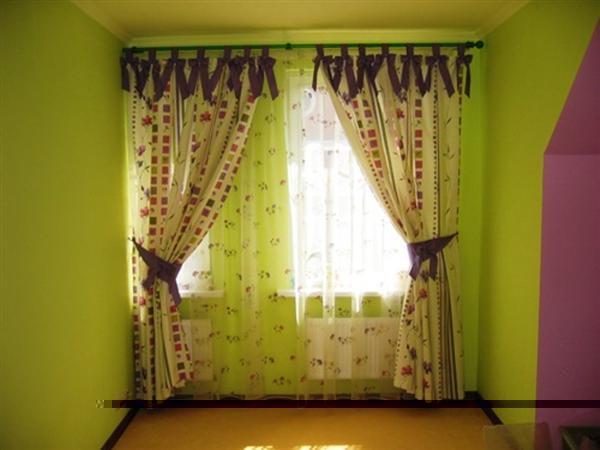 100 вариантов фото новинок штор в гостиную - Вариант 5