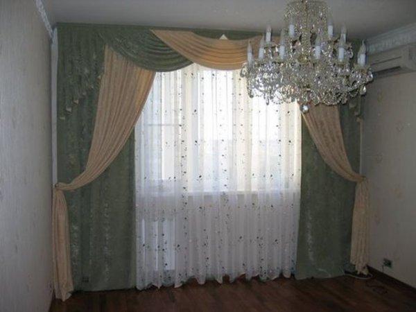 100 вариантов фото новинок штор в гостиную - Вариант 25