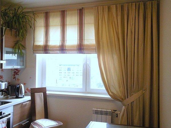 100 вариантов фото новинок штор в гостиную - Вариант 35