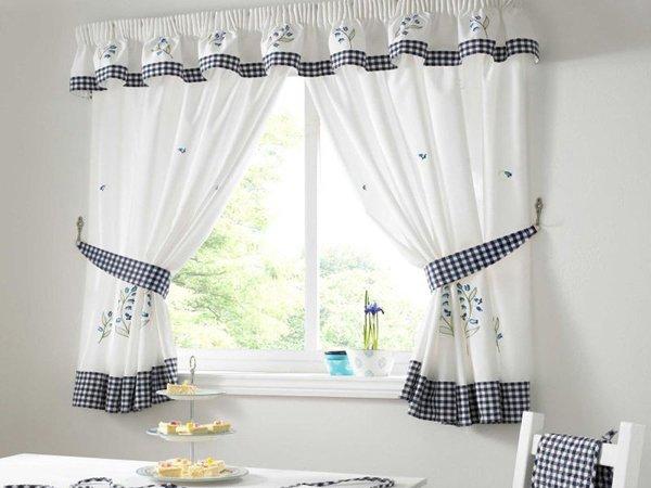 100 вариантов фото новинок штор в гостиную - Вариант 34