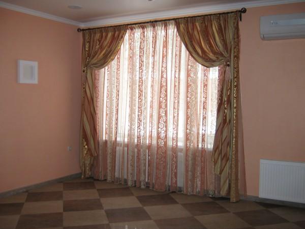 100 вариантов фото новинок штор в гостиную - Вариант 57