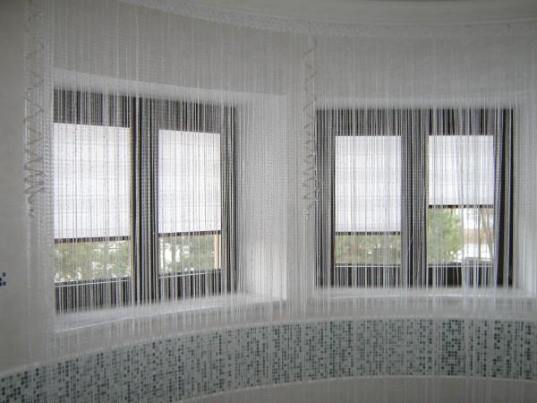 100 вариантов фото новинок штор в гостиную - Вариант 93