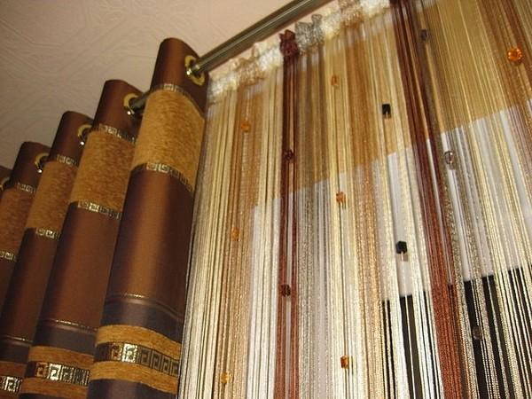 100 вариантов фото новинок штор в гостиную - Вариант 102