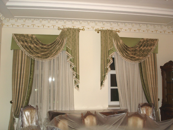 100 вариантов фото новинок штор в гостиную - Вариант 95