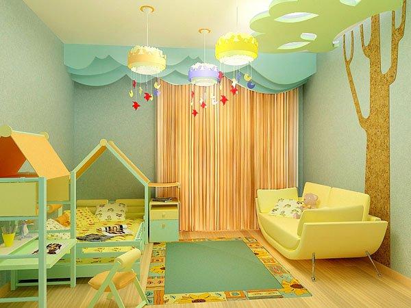При выборе штор для детской, всегда опирайтесь на его предпочтения